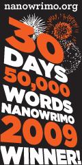NaNoWriMo 2009 Winner Badge