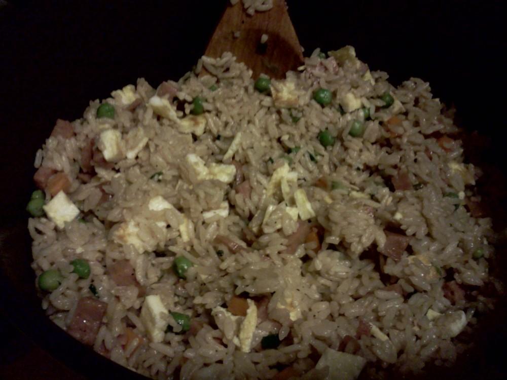 Recipe: Jon's Ono Spam and Egg Fried Rice