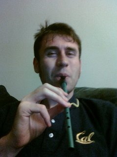 Me and my Clarke Tin Whistle