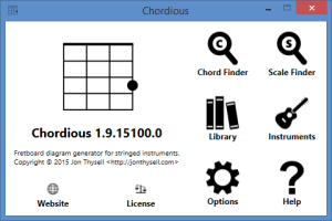 Chordious 2.0 Preview