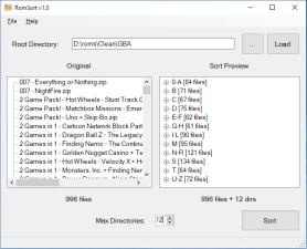 RomSortScreenshot