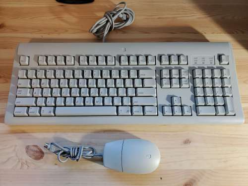New Apple Extended Keyboard Top