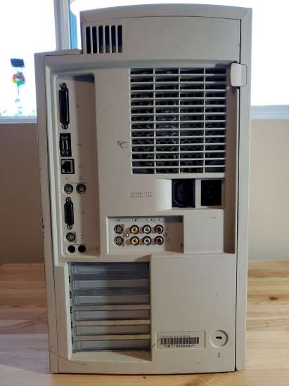 Power Mac 8600 Back