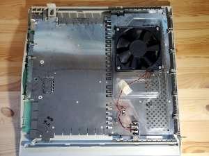 Power Mac 8600 Inside Left Panel