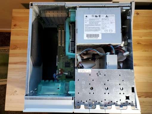 Power Mac 8600 Inside