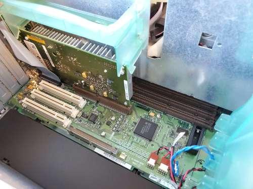 Power Mac 8600 Inside Processor Board