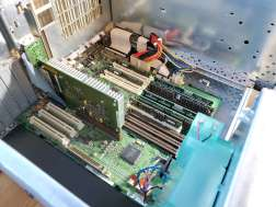 Power Mac 8600 Inside Open Motherboard