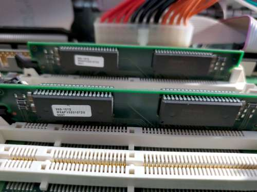 Power Mac 8600 Inside VRAM Closeup