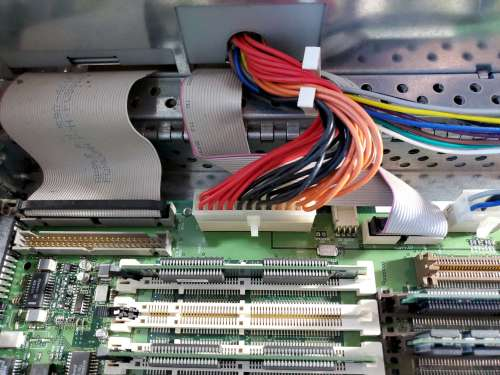Power Mac 8600 Inside SCSI