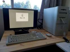 Power Mac 8600 First Boot (No Disk)