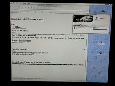 Power Mac visiting a modern site via IE 3.0.1