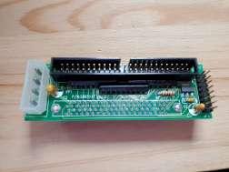 SCA 80 - IDC50 Male Header, w/ Active Termination