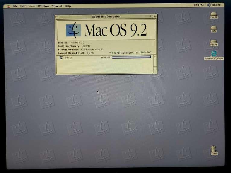 Mac OS 9.2.2 Up and Running