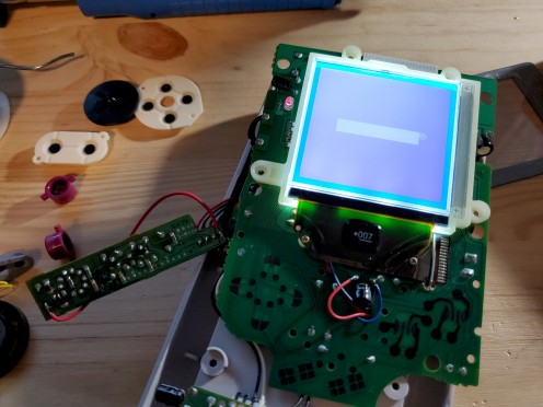 Game Boy power board fixed