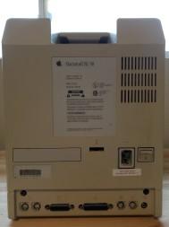 Mac SE/30 Back