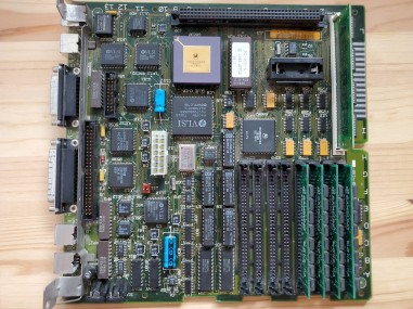 Mac SE/30 Motherboard Top