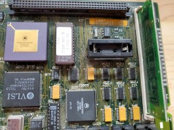 Mac SE/30 Motherboard Empty PRAM