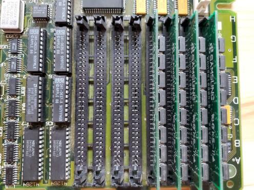 Mac SE/30 RAM Slots