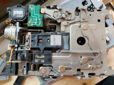 Mac SE/30 Floppy Drive