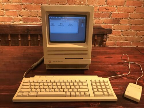 Mac SE/30 eBay Listing Photo