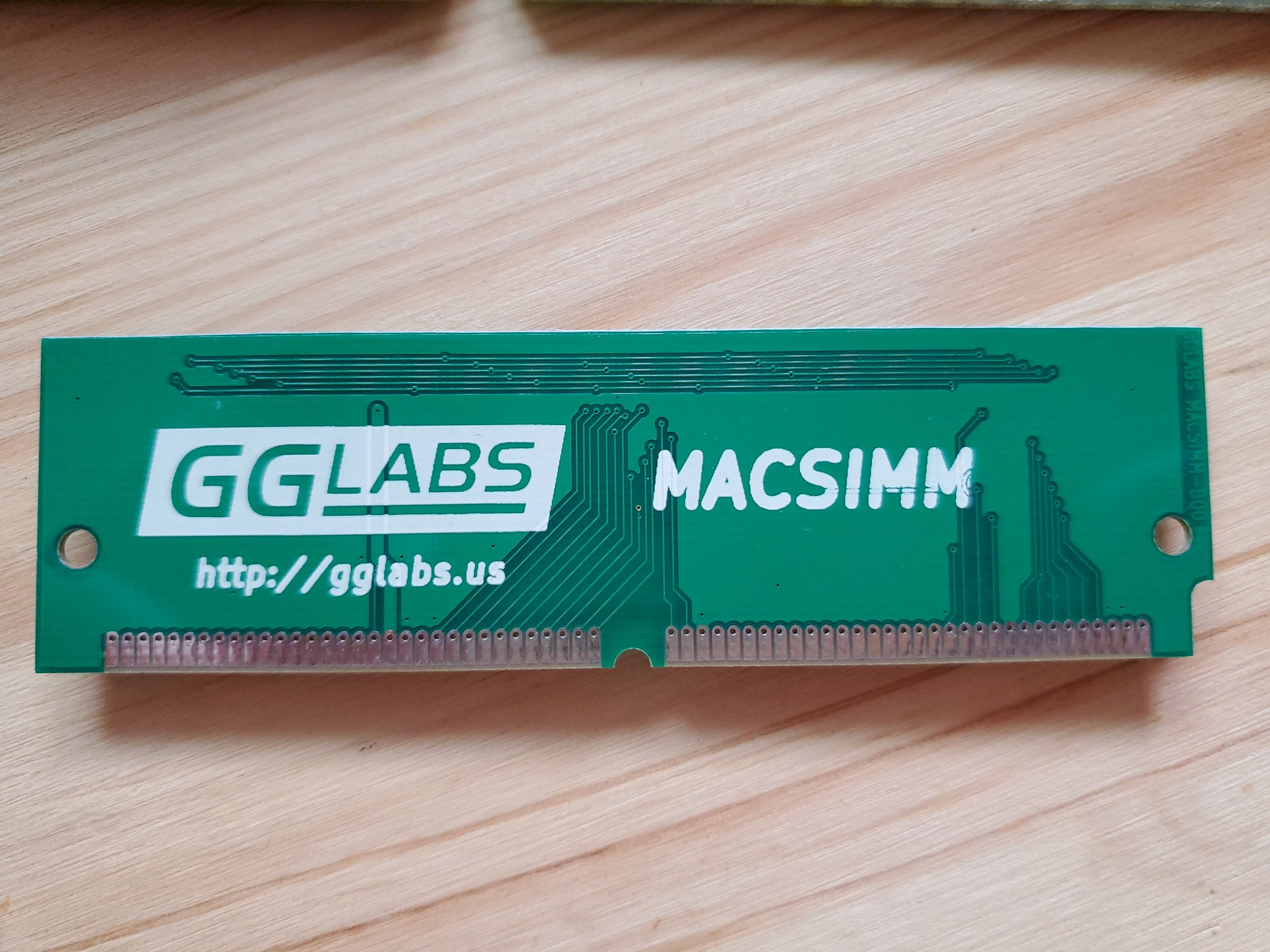 GGLABS MACSIMM Replacement ROM Back