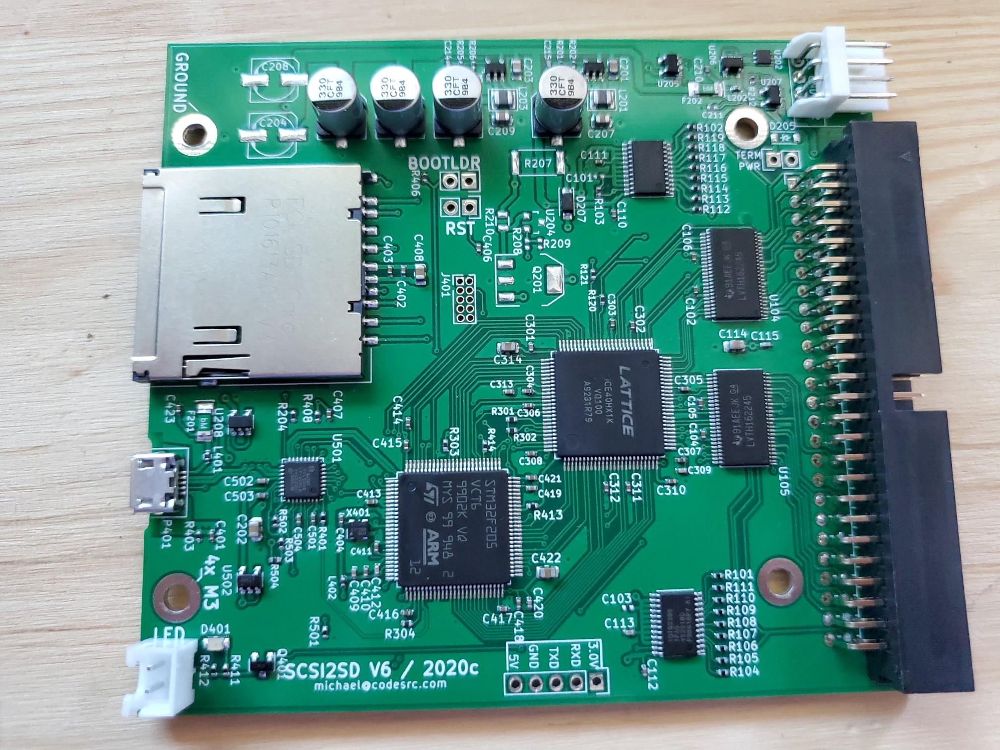SCSI2SD v6 / 2020c