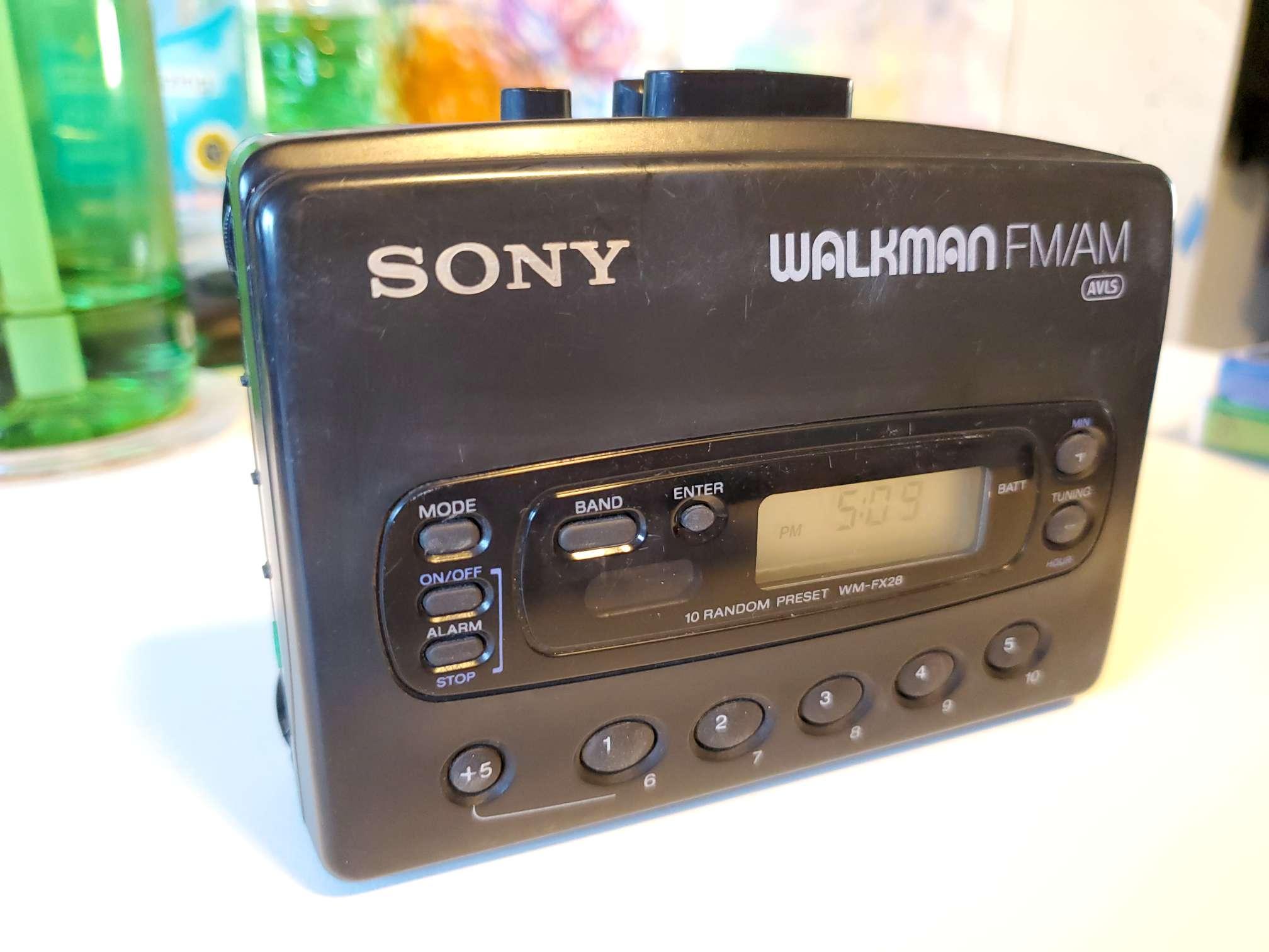 Sony Walkman WM-FX28