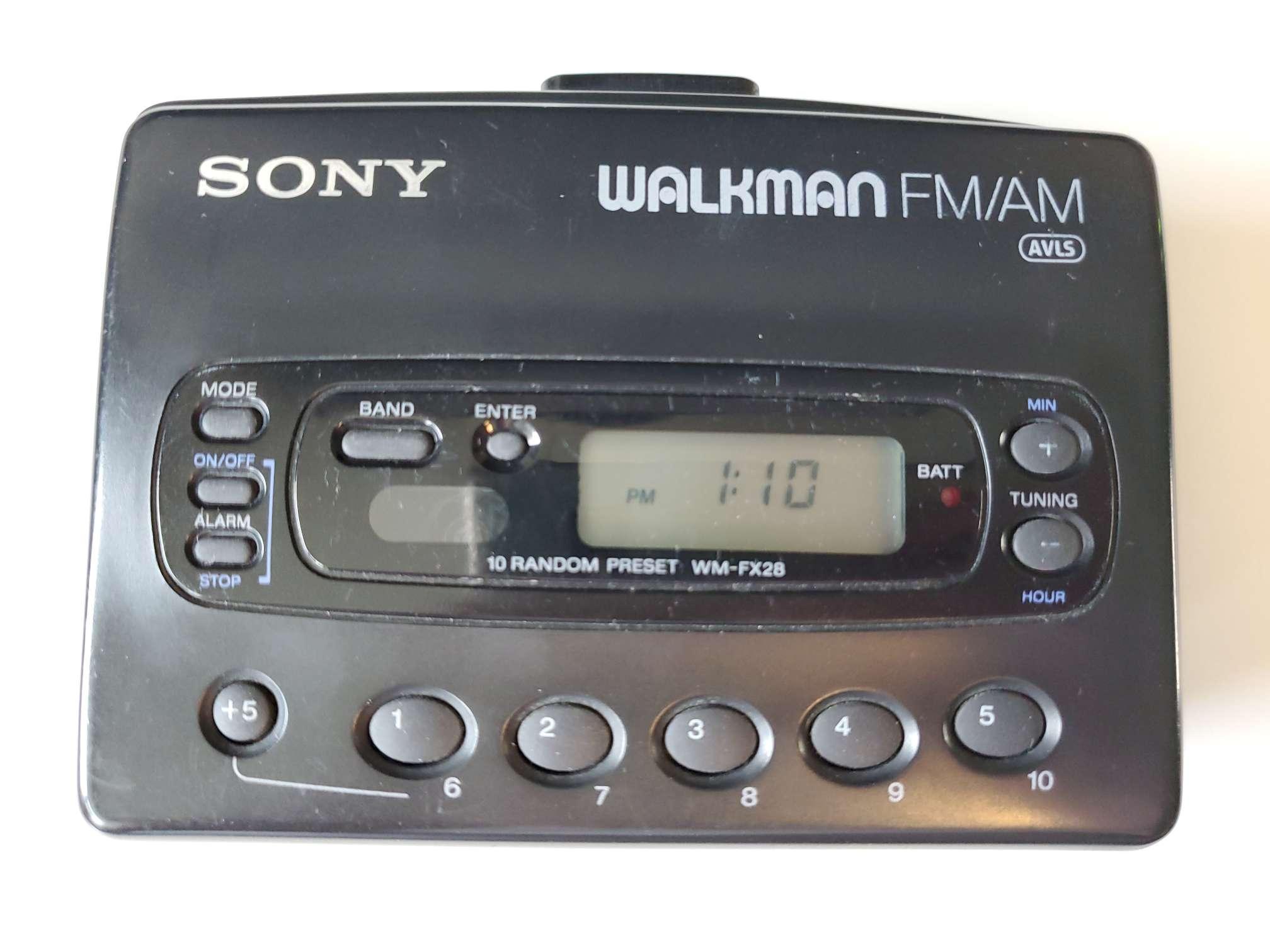 Sony Walkman WM-FX28 Reassembled